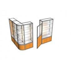 Павильон угловой с дверью ПАВ-4-3